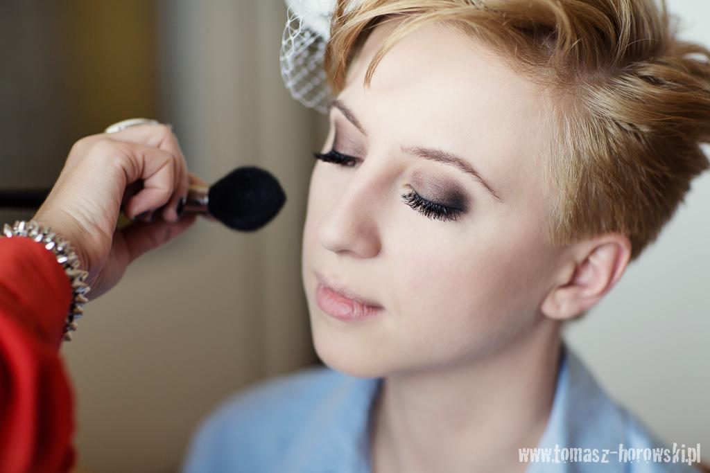 Makijaż Ślubny brązy