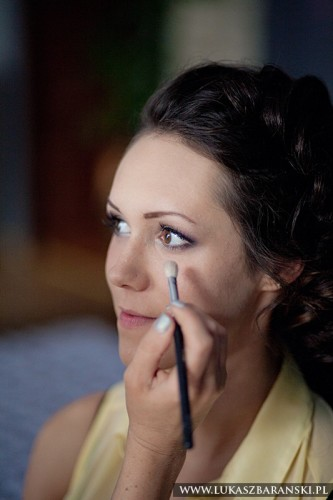 makijaż ślubny, makijaż Piekary,